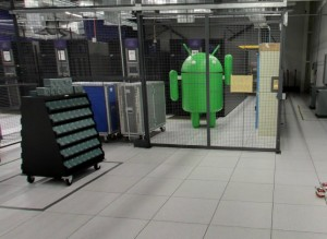 Take a virtual walk through a Google data center