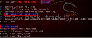 Introduction into Metasploit