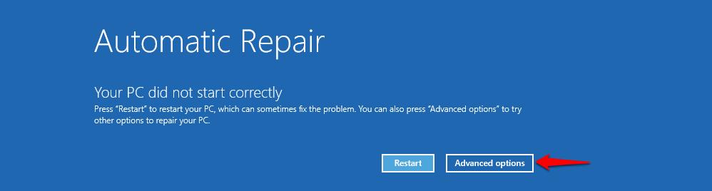 automatic-repair-advanced-options