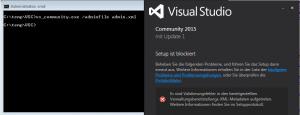 Install Visual Studio 2015 silent